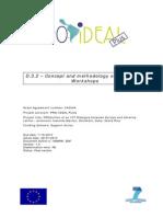 001-D32Conceptandmethodologyofinteractiveworkshops