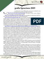 Bibliografía Ignaciana 2009 - Ignaciana