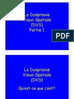 Dyspraxie Visuo Spatiale Cours 2