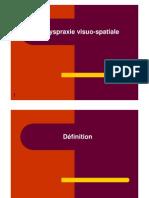 Dyspraxie Visuo-spatiale Cours
