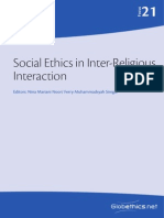 Social ethics in inter-religious interaction