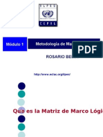Metodologia de Marco Logico