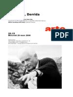 D Ailleurs Derrida