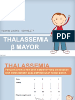 Thalassemia Beta Mayor KASUS II