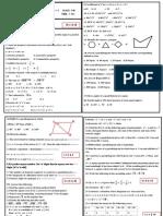 9th grade question paper