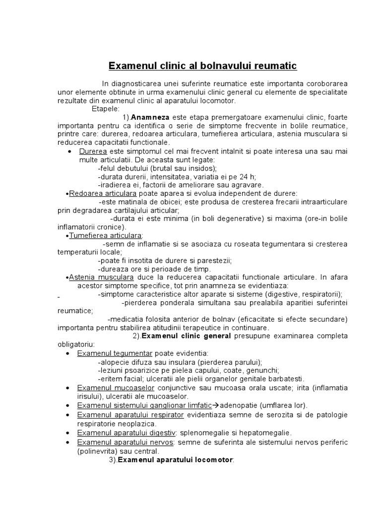 examenul obiectiv al umarului)