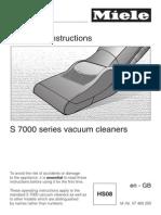 Miele S7210 Vacuum