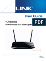 TL-WDR3600 V1 User Guide
