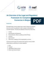 CCIA Legal Compliance Overview, Belgium