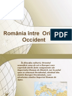 Romania in Orient