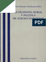 La Filosofia Moral y Politica de Habermas Jose Antonio Gimbernat