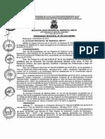 Ordenanza Municipal Nro 003-2015-Mpmn