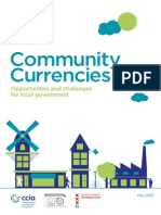 Community Currencies - Opportunities and Challenges for Local Governments, 21pp
