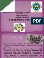 Desarrollo Social. Karina Correa
