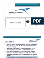 Applied Dynamics Flight Systems Presentation Feb 17, 2010
