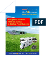 Solar Power for Stand Alone Off Grid Applications