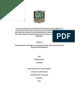 Analisis Efektifitas Program Pinjaman Dana Bergulir