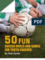 50 Fun Soccer Drills Sample