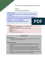 Guía de Aprendizaje Clase Gerontología Social