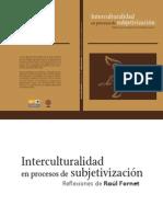 Interculturalidad en Procesos de Subjetivización