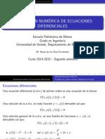 Resolucion Numérica EDO
