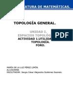 Foro Unidad 1.Topología. Pdf