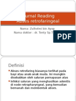 Journal Reading Abses Retrofaring