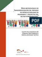 Guia Metodológica de Interculturalidad