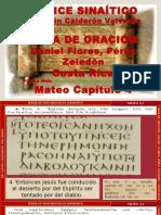 Códice Sinaítico Mateo cap 4