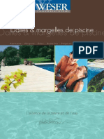 Catalogue Dalles Et Margelles de Piscine Weser