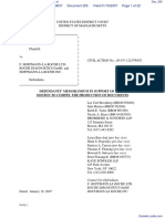 Amgen Inc. v. F. Hoffmann-LaRoche LTD et al - Document No. 255