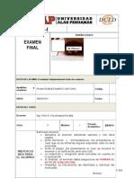 Examen Final 2015