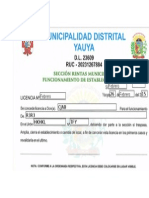 Formato de Licencia