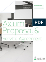 Axium Proposal for the Entrepreneur Center