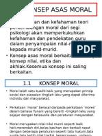 Konsep Moral