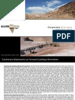 Allied Nevada Gold Corp Feb 2010 Presentation