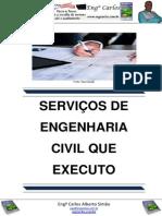 Serviços de Engenharia Civil que Executo