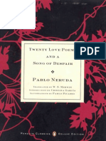Twenty Love Poems & a Song of Despair (Penguin, 2004)