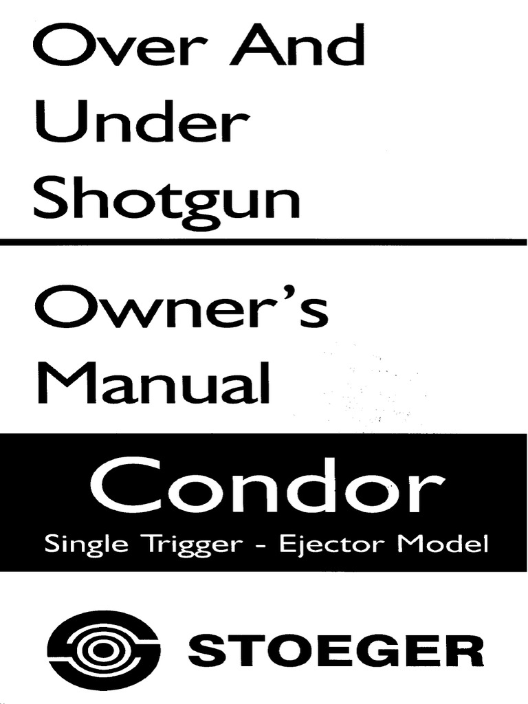 Over-and-under shotguns | stoeger industries.