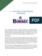 International Market Research - Boresc Mineral Water