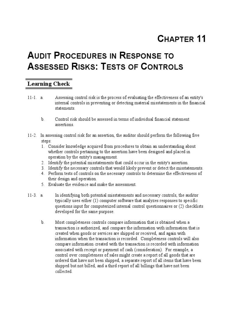 boynton sm ch 11 financial audit audit rh scribd com Principles of Manufacturing Processes Metal Solutions Manual Calculus Student Solutions Manual PDF