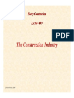 HC Lecture03 the Construction Industry
