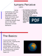 Lipton Presentation Information Design