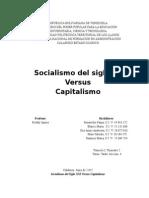 SOOCIALISMO - CAPITALISMO