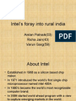 Intel's foray into rural india