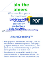 Train the Trainers - Lideres HSE NeuroCoaching