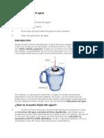 caracteristicas del punto triple del aguaunto Triple Del Agua