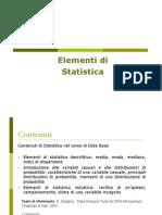 Elementi Di Statistica Lezione1