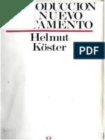 Introduccion Al Nuevo Testamento Helmut Kc3b6ster