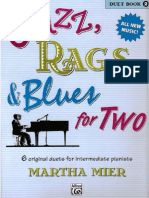 Martha Mier - Jazz, Rags & Blues for Two - Book 2